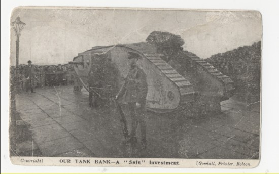 World War I Tank, 1916 to 1918