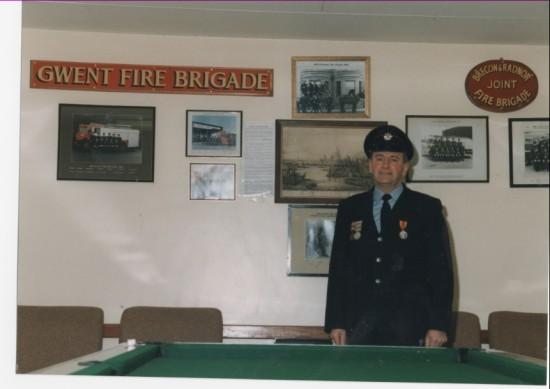 Brynmawr fireman