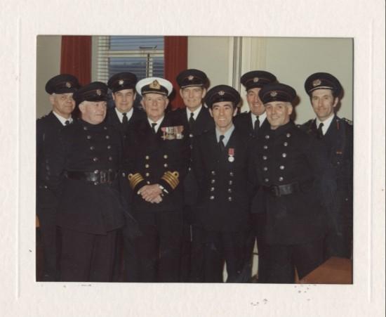 Brynmawr firemen