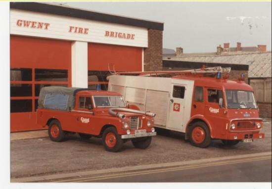 Brynmawr fire station