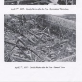 General view of the Gwalia Works after the fire