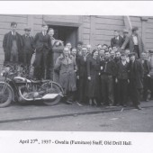 Gwalia furniture staff, Old Drill Hall