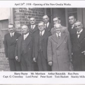 opening of the new Gwalia Works