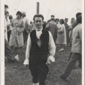 Welsh Folk dancer, Brynmawr. Alan Williams