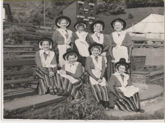 Welsh Folk Dancers, Brynmawr.