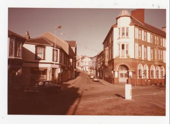 Brynmawr town