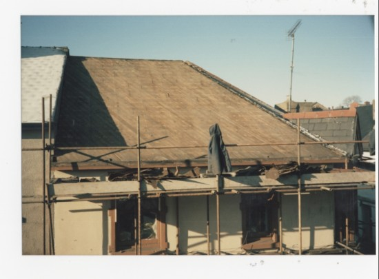 Bernstein's new roof