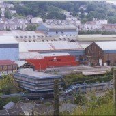 Corus Steelwork Site Prior to demolition
