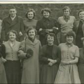 Waunlwyd CO OP staff 1956