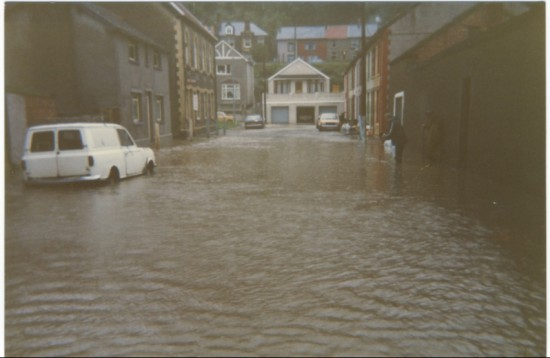 Cwm Floods of 1984