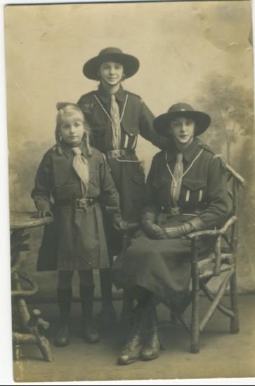 Girl Guides c. 1920