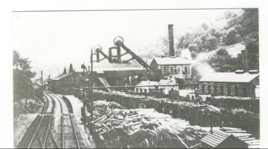 Marine Colliery in winter