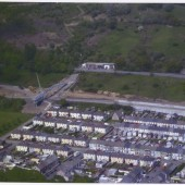 Construction of Cwm Relief Road