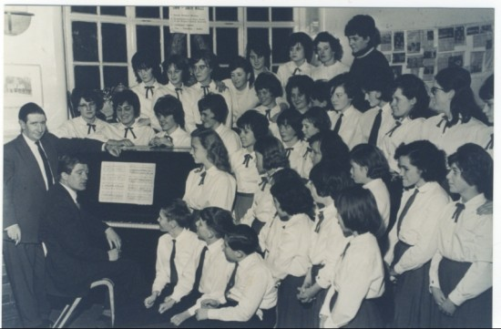 The Dyffryn School Choir