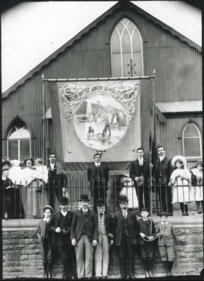 Cwm Baptist Chapel, c. 1900