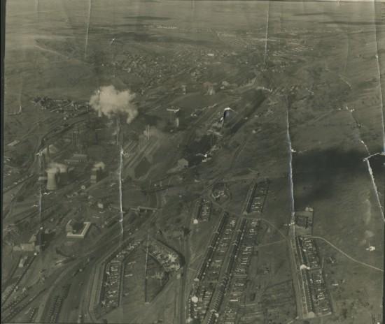 Aerial photo of Waunlwyd, 1948