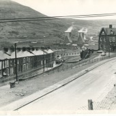Station Road, Waunlwyd in the 1970s