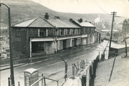 Cooperative Society,Station Road, Waunlwyd, in the 1970s