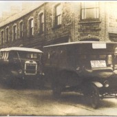 Cox's bus service from Cwm to Ebbw Vale, 1919