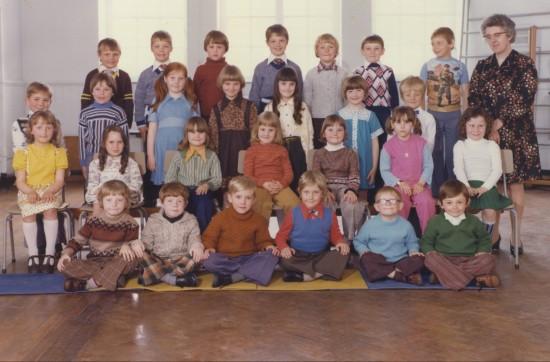 Class at Waunlwyd School
