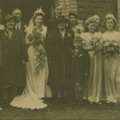 Wedding of Jean Forty and Frank Heath
