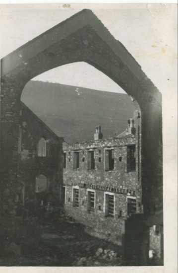 Tirzah after the fire of 1916