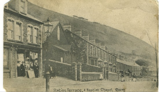 Station Terrace and Baptist Chapel