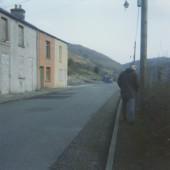 Demolition of Railway Terrace (looking south)