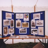 Cwm and Waunlwyd Community Archive display