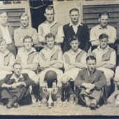 Cwm Boys Brigade football team 1940s