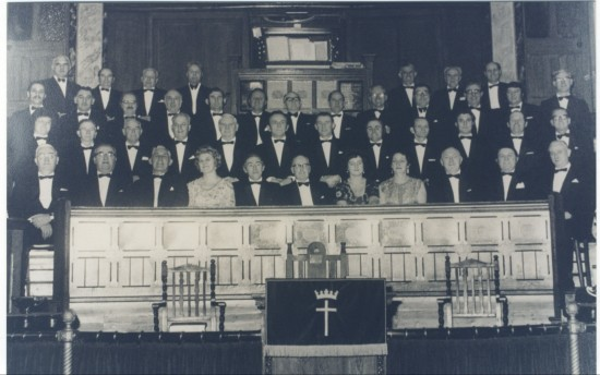 Cwm Male Voice choir