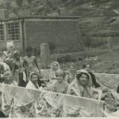 Methodist Chapel float in Cwm Carnival, late 1950s