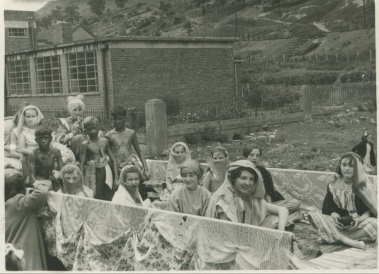 Methodist Chapel float in Cwm Carnival, late 1950s