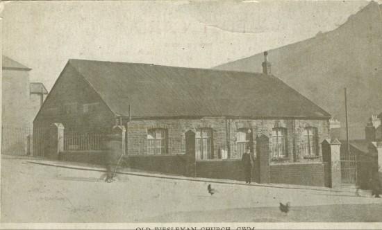 Old Wesleyan Church, Cwm