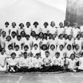 Cwmyrdderch School Choir, 1933