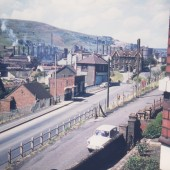 Heavy End of Ebbw Vale Steelworks,Waunlwyd