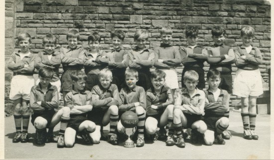 Cwm Top School football team