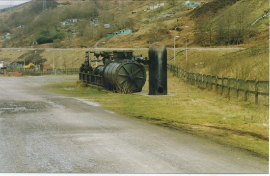 Cornish pump engine at Marine Colliery site.