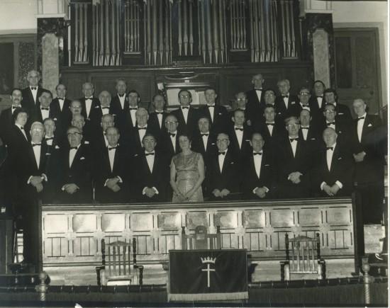 Cwm Male Voice Choir at Tirzah Baptist Chapel