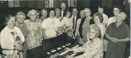 New church organ, Methodist Chapel