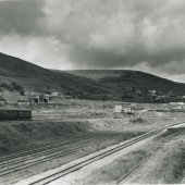 View North from Waunlwyd Colliery Site