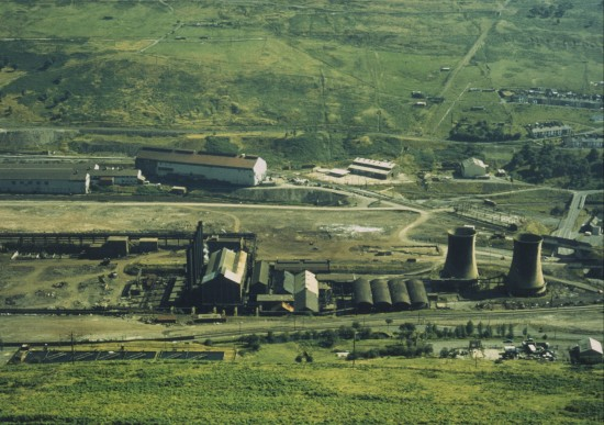 Steelworks during Demolition