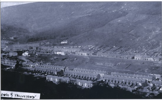 Early View of Cwm looking N.E.