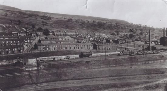 View South of Tyllwyn