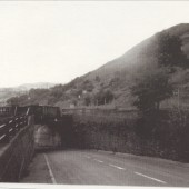 The Old Road to Cwm looking North.