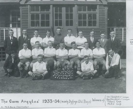 Cwm Argyles Soccer Team