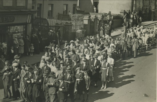 Whitsun Walk,Mill Terrace