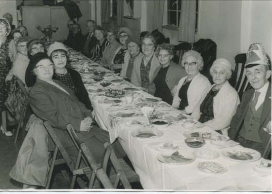Tea At The Cwm Pensioners Hall