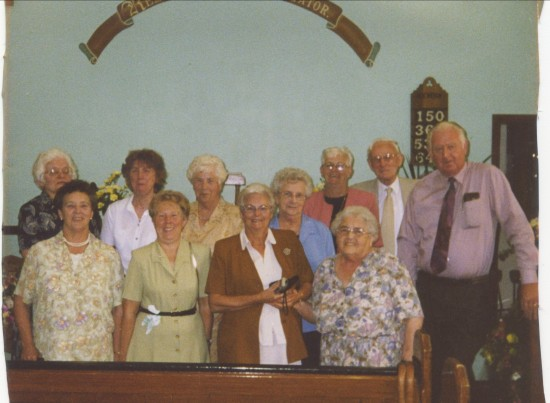 members of Paran Chapel Manmoel.
