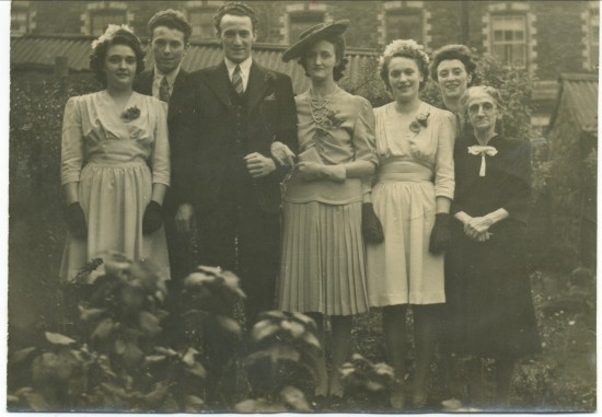 Wedding of Stanley and Florence Davis